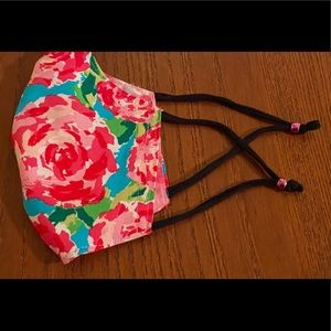 LILLY PULITZER FACE MASK REVERSIBLE